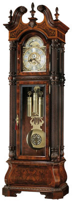 Howard Miller The J. H. Miller 611-030 : Grandfather Clocks :: Traditional Collection