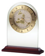 Howard Miller World Time Arch 645-603 : Table Clocks :: Tabletop