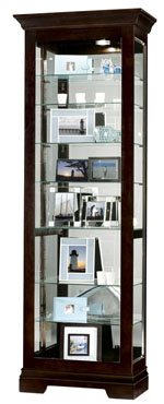 Howard Miller Saloman 680-412 : Curio Display Cabinets :: Curios