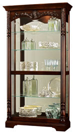 Howard Miller Felicia 680-497 : Curio Display Cabinets :: Curios