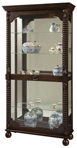 Howard Miller Canyon 680-541 : Curio Display Cabinets :: Curios