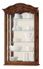 Howard Miller Vancouver II 685-102 : Curio Display Cabinets :: Wall Curios