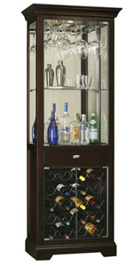 Howard Miller Gimlet 690-005 : Curio Display Cabinets :: Wine & Bar